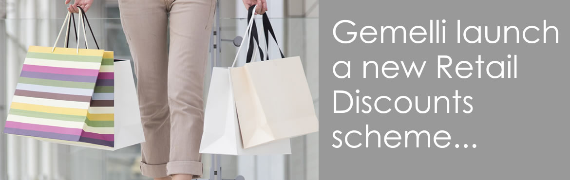 New Employee Benefit from Gemelli Retail Discounts